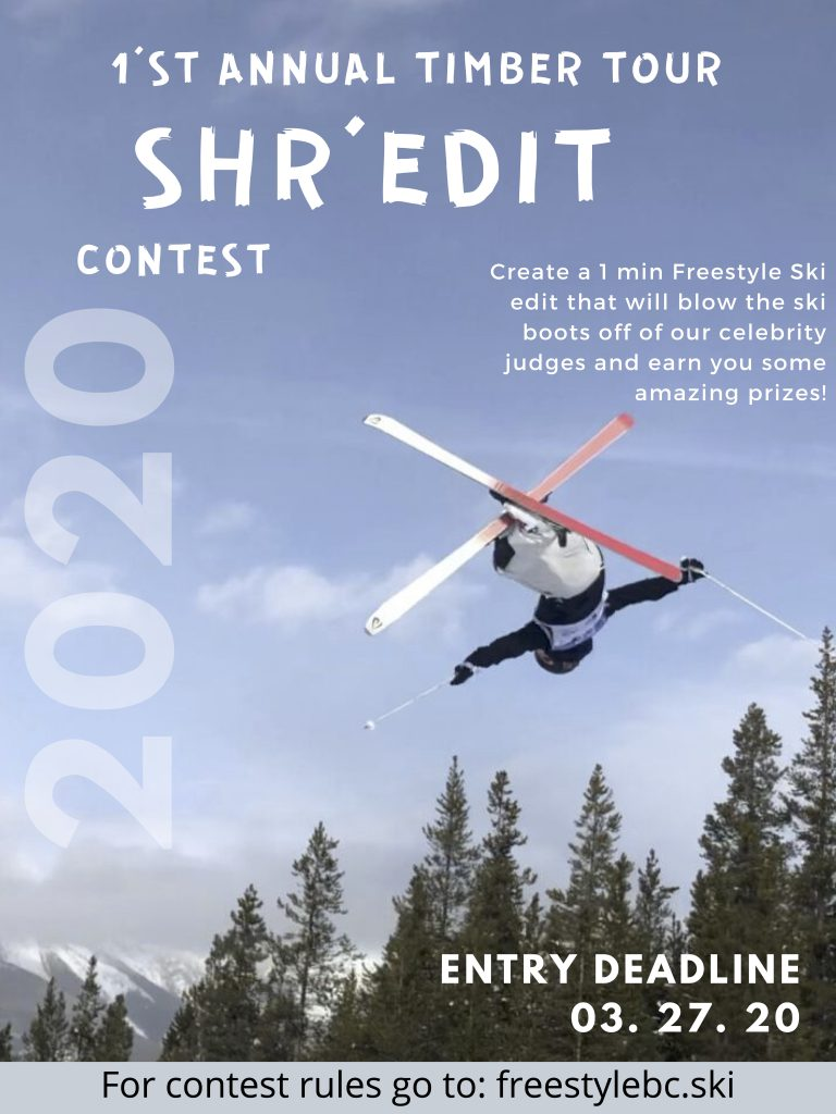 1st Annual Timber Tour SHR'EDIT CONTEST